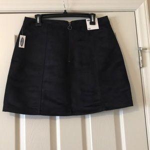 Old Navy size 12 black skirt
